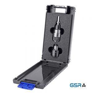 Produktbild: QC-Gewindeschneid-Adapter Artikelnumer 006661 in schwarzer Kassette