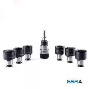 Übersicht aller GSR Gewindeschneid Schnellwechseleinsätze etapping DIN352 DIN371 DIN376