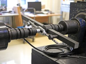 GSR Qualitätsprüfung: Bruchstest für Drehmoment der Haltewerke in der Maschine